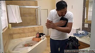 Chubby teen anal toy Lexy Bandera get s her pipes cleaned by a yam-sized cock