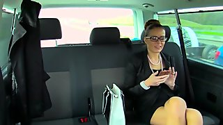FuckedInTraffic - Czech babe gets cum covered in car sex