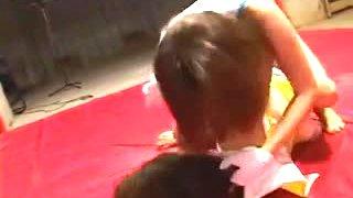 Japanese Strip Wrestling (2)