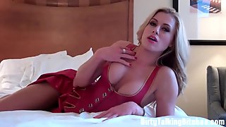 Blow a big hot load for Carmen Valentina JOI