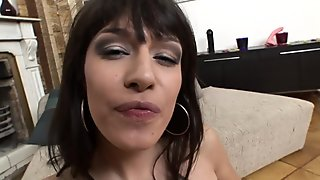 Anal Sex With Skinny Brunette