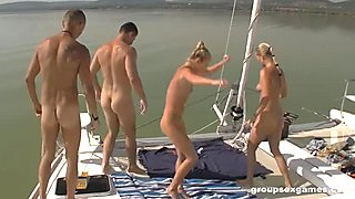 Sluts tend to get fucked in the ass on boats
