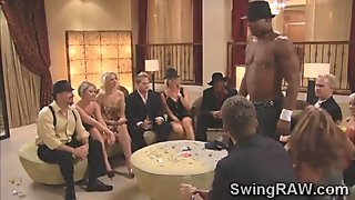 Sexy swingers couples get naughty in daring game for reality show