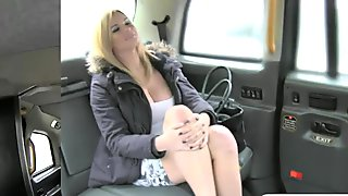 Busty tv star sucks off and gets banged for a free fare