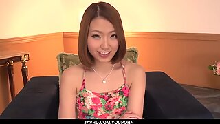 Full Asian toy porn with obedient Miku Kirino - More at javhd.net