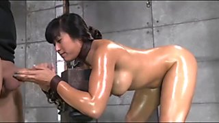 Sex slave bitch gets double abused by two masters