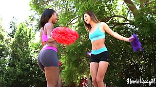 Chanell Heart And Christiana Cinn Interracial Lesbo