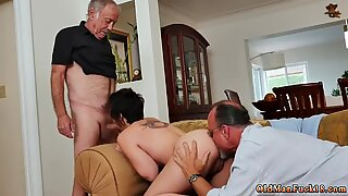 Horny daddies and old granny sluts xxx More 200 years of salami for this beautiful