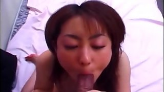 Nasty Yuu Shirasaka hottest blowjob