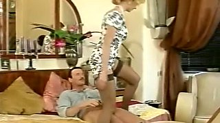 Luscious German lady is facesitting her lover so she gets her pussy and ass eaten out