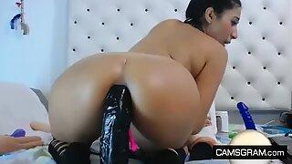 Amazing Nice Ass Camwhore Enjoy Ass Fucking