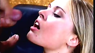 Hot blond gets picked up