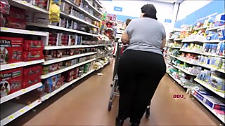 Massive Wide Booty Greek Granny