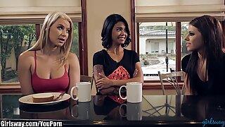 Girlsway Lesbian Horror Story: The Beginning