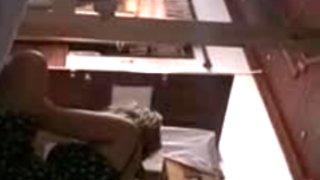 Flash and cum to girls in hostel