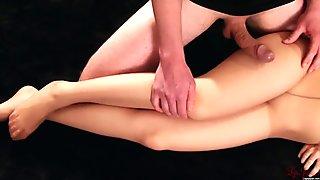 Miku Oguri's leg fuck