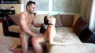 Exotic beauty Chanel Preston getting a lovely creampie