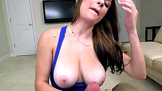 Dillion Carter loves to swallow creamy cum