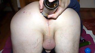 Pervert anal gape games
