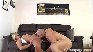 Couple doing anal sex after jogging