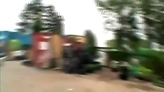 Old Man Pays Hooker And Fuck Her Outdoors
