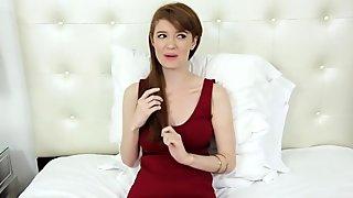 TeensDoPorn  Busty Red Head Abbey Rains Porn Cas