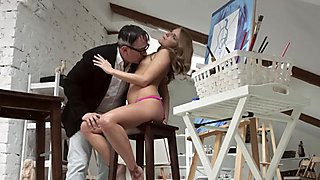 Dirty old teacher Vlada gets ready to deep throat