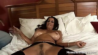 Milf Persia Monir is having interracial sex in a hotel room