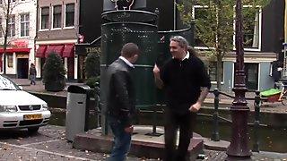 Real amsterdam hooker fucking tourist closeup