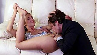 Rimmed pornstar spunked