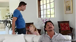 Family strokes big tits Seducing My Stepplayfellow s son