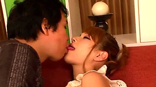 Japanese sofasex pornstar hottie Tia Bejean