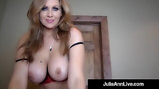 man sausage hungry mummy Julia Ann Sucks Your Hard Cock POV!