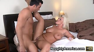 BBW bitch is so horny and needs to jump on cock