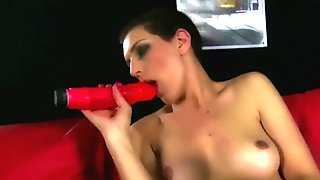 HOTGOLD Hot Portuguese babe cums solo